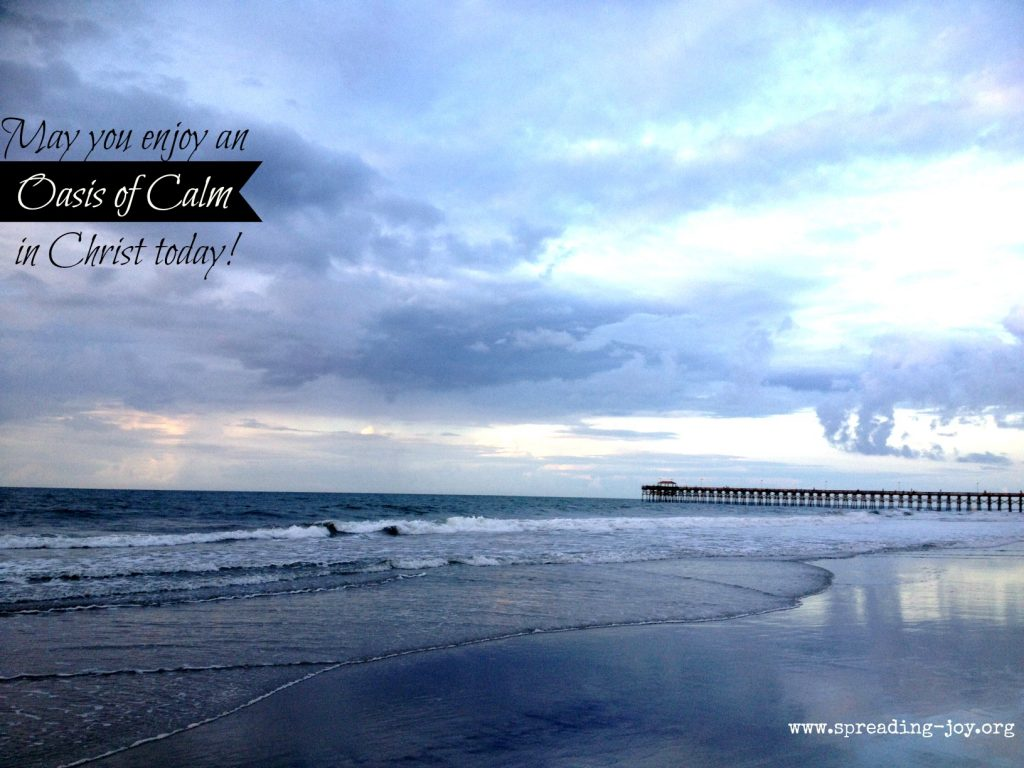 oasis of calm in christ