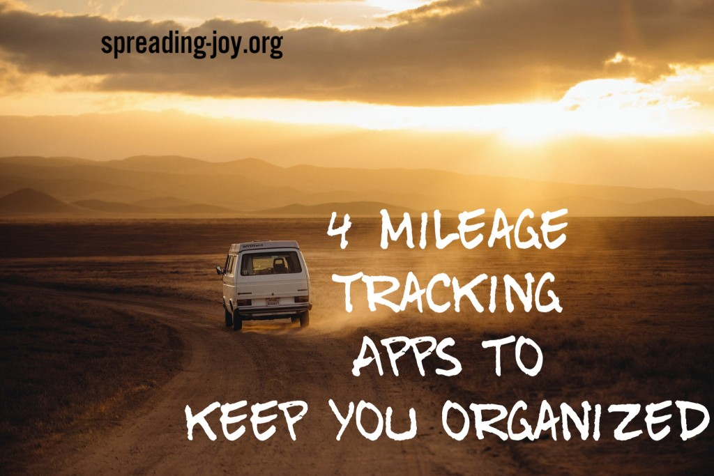 4 Mileage Tracking Apps