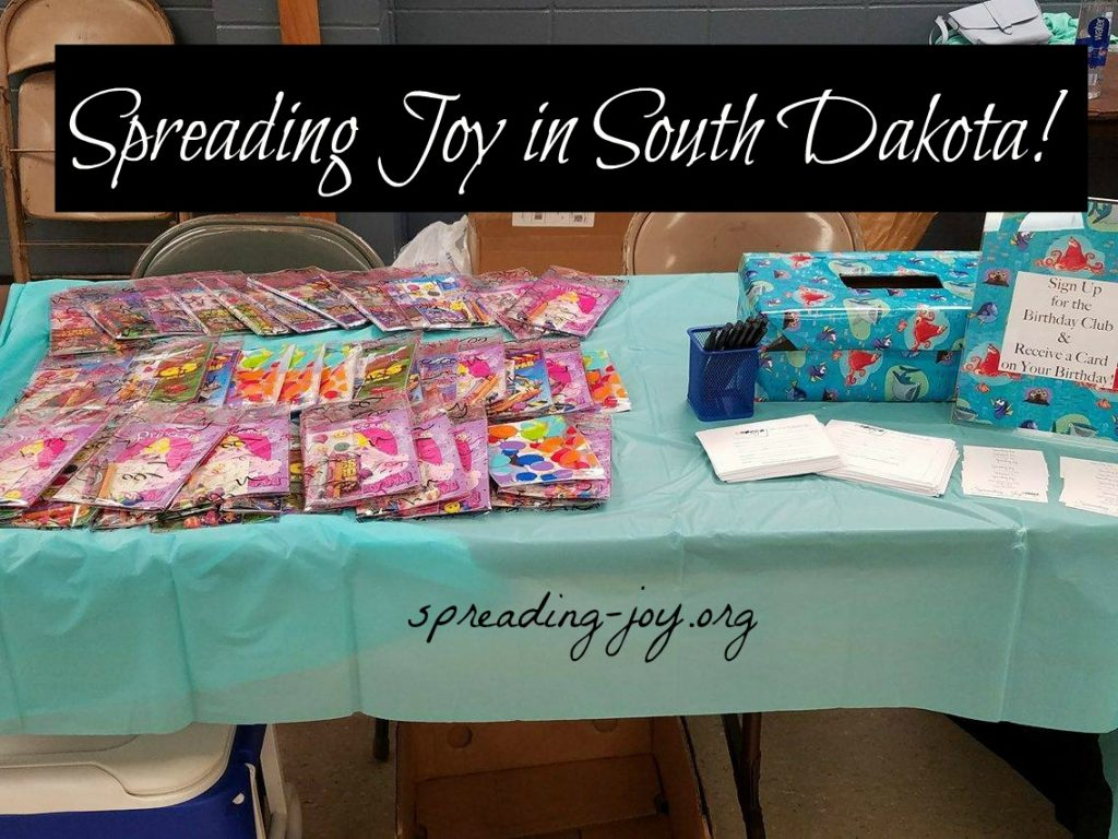 Spreading Joy in South Dakota