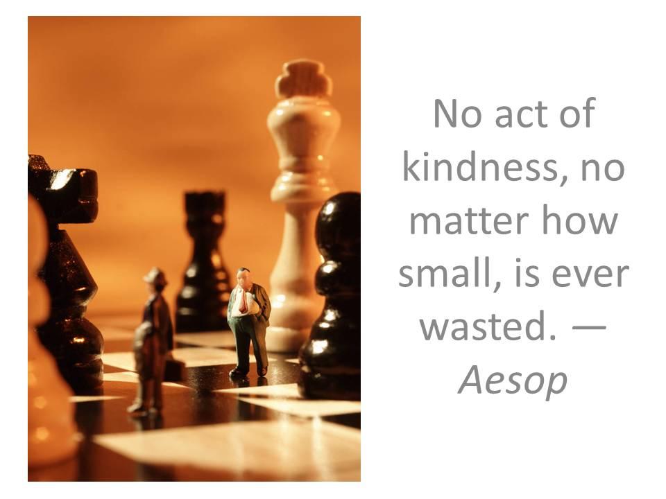 No act of kindness, no matter how small, is ever wasted. Aesop - spreading-joy.org volunteers needed