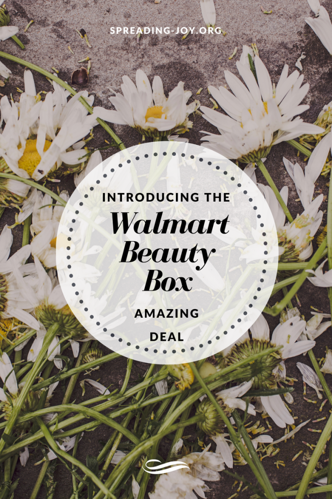 Introducing the Walmart Beauty Box